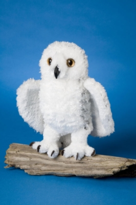 "Snowy - 9"" Owl By Douglas Cuddle Toy"