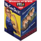 Women of WWII - 500pc Double-Sided Jigsaw Puzzle by Pigment & Hue