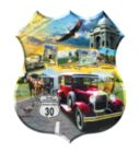 Lincoln Highway - 1000pc Shaped Jigsaw Puzzle By Sunsout
