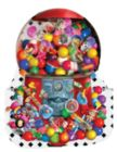 Gumballs Galore - 1000pc Shaped Jigsaw Puzzle By Sunsout