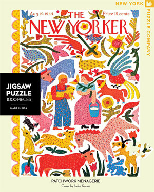 Jigsaw Puzzles - Patchwork Menagerie