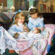 Perre Jigsaw Puzzles - Little Girls