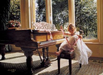 Perre Jigsaw Puzzles - Piano Ballerina