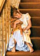 Perre Jigsaw Puzzles - A Sleep on the Stairs