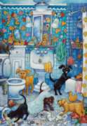 Perre Jigsaw Puzzles - More Bathroom Pups