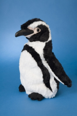 Stripes Humbolt - 10&quot; Penguin By Douglas Cuddle Toy