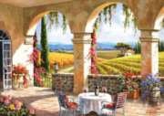 Perre Jigsaw Puzzles - Wine Country Terrace