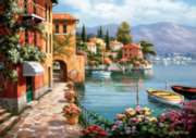 Vila de Lago - 1500pc Jigsaw Puzzle by Anatolian