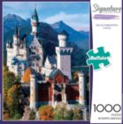 Neuschwanstein Castle - 1000pc Large Format Jigsaw Puzzle By Buffalo Games