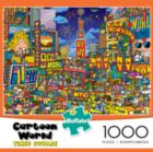 Cartoon World: Times Square - 1000pc Jigsaw Puzzle By Buffalo Games