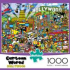 Cartoon World: Hollywood - 1000pc Jigsaw Puzzle By Buffalo Games