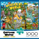 Cartoon World: Wonders of the World - 1000pc Jigsaw Puzzle By Buffalo Games