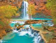 Canyon Oasis - 500pc Jigsaw Puzzle by Springbok