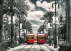 New Orleans: Streetcars - 1000pc Jigsaw Puzzle by Eurographics