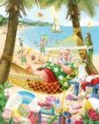 Santa's Vacation - 1000pc Jigsaw Puzzle