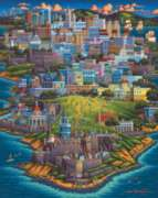 Puerto Rico - 500pc Jigsaw Puzzle by Dowdle