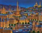 Paris City of Lights - 1000pc Jigsaw Puzzle by Dowdle