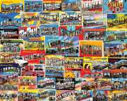 Postcards From America Puzzle