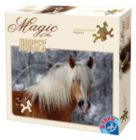 Haflinger Solo - Horse Shaped Pieces- 239 pc Jigsaw Puzzle by D-Toys