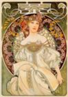 Reverie: Alfonse Mucha - 1000 pc Jigsaw Puzzle by D-Toys
