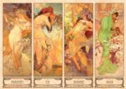 D-Toys Seasons: Alfonse Mucha Jigsaw Puzzle
