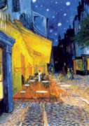 D-Toys Caf� Terrace at Night: Van Gogh Jigsaw Puzzle