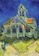 D-Toys The Church at Auvers: Van Gogh Jigsaw Puzzle