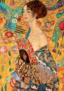 D-Toys Lady with a Fan: Klimt Jigsaw Puzzle