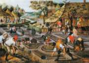 D-Toys Spring: Brueghel Jigsaw Puzzle