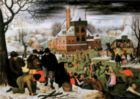 Winter: Breughel - 1000 pc Jigsaw Puzzle by D-Toys