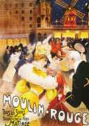 D-Toys Moulin-Rouge Vintage Poster Jigsaw Puzzle