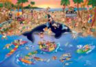 Seaside Antics - 1000 pc Jigsaw Puzzle by D-Toys