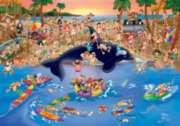 D-Toys Seaside Antics Jigsaw Puzzle