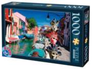 Burano  - 1000 pc Jigsaw Puzzle by D-Toys
