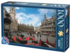 Brussels - 1000 pc Jigsaw Puzzle by D-Toys