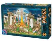 D-Toys Building Stonehenge Jigsaw Puzzle