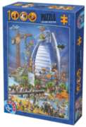 D-Toys Building the Burj Al Arab Jigsaw Puzzle