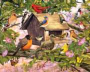 White Mountain Breakfast Club Jigsaw Puzzle