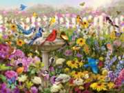 White Mountain Birds of Summer Jigsaw Puzzle