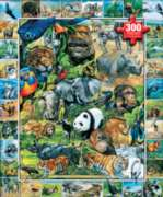 White Mountain Endangered Species Jigsaw Puzzle