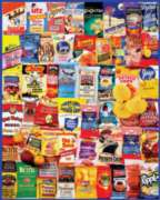 White Mountain Potato Chips Jigsaw Puzzle