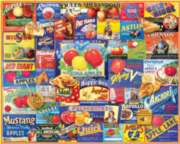White Mountain An Apple A Day Jigsaw Puzzle