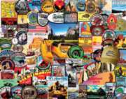White Mountain National Park Badges Jigsaw Puzzle