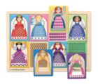 Princesses - Peek-Through Puzzle By Melissa & Doug