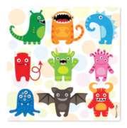 Mini Monsters - 30pc Jigsaw Puzzle By Melissa & Doug