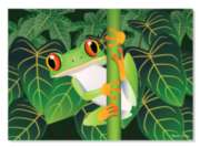 Melissa & Doug Red-Eyed Tree Frog Jigsaw Puzzle