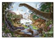 Prehistoric Waterfall - 200pc Jigsaw Puzzle By Melissa & Doug