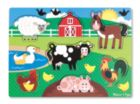 Farm - 8pc Peg Puzzle By Melissa and Doug