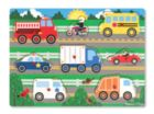Vehicles - 8pc Peg Puzzle By Melissa and Doug