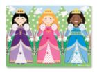 Dress-Up Princesses - 9pc Peg Puzzle By Melissa and Doug